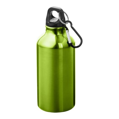 Oregon 400 ml Trinkflasche mit Karabiner apfelgrün   ohne Werbeanbringung   Nicht verfügbar   Nicht verfügbar