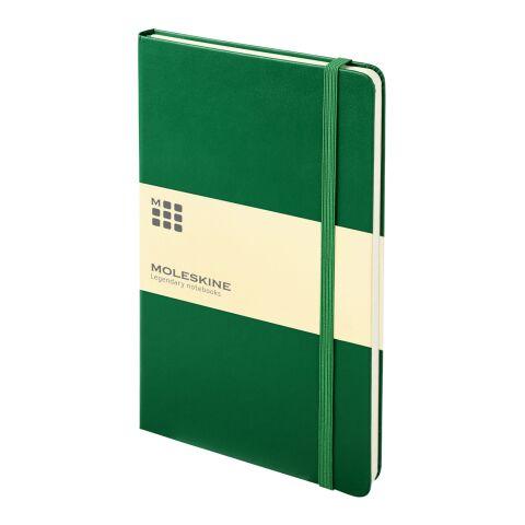Moleskine Classic Hardcover Notizbuch L – liniert dunkelgrün   ohne Werbeanbringung   Nicht verfügbar   Nicht verfügbar