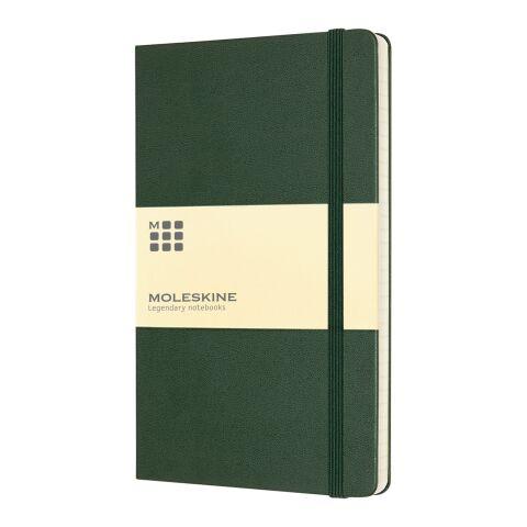 Moleskine Classic Hardcover Notizbuch L – liniert dunkelgrün | ohne Werbeanbringung | Nicht verfügbar | Nicht verfügbar