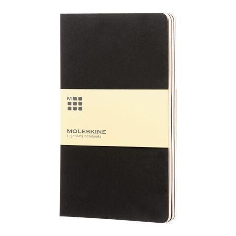 Moleskine Cahier Journal L – blanko schwarz | ohne Werbeanbringung | Nicht verfügbar | Nicht verfügbar