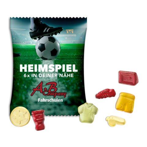 Fruchtgummi Fußballmischung (15 g) transparent | 1-farbig