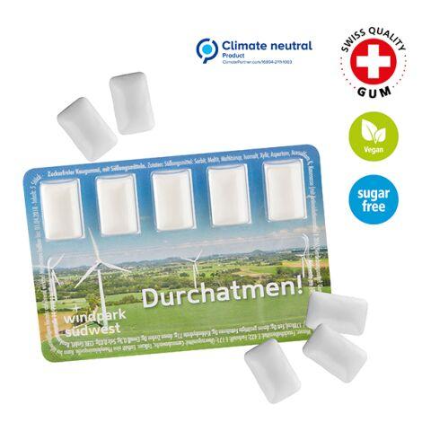 Smart Card mit Kaugummi-Dragees