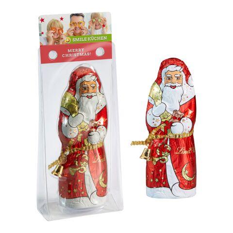 Lindt & Sprüngli Weihnachtsmann weiß | 4C-Digitaldruck