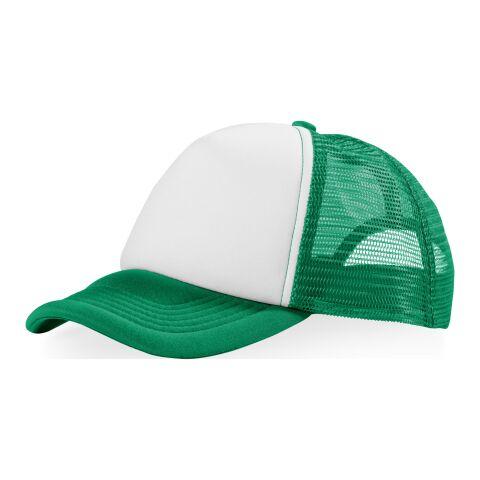 Trucker Kappe mit 5 Segmenten Standard | grün-weiß | ohne Werbeanbringung | Nicht verfügbar | Nicht verfügbar | Nicht verfügbar