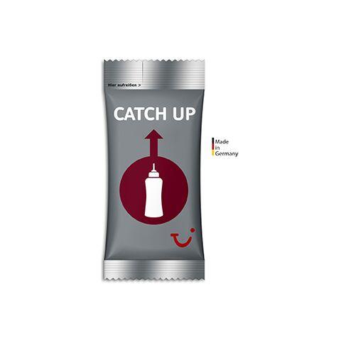 Ketchup ohne Werbeanbringung