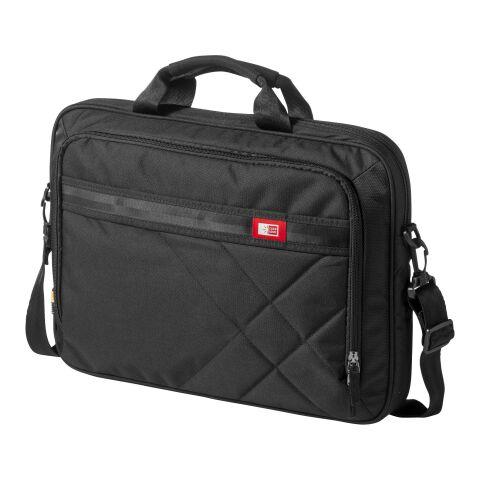 """17"""" Laptop- und Tablettasche schwarz   1-farbiger Siebdruck   Vorderseite   110 mm x 80 mm   Nicht verfügbar"""