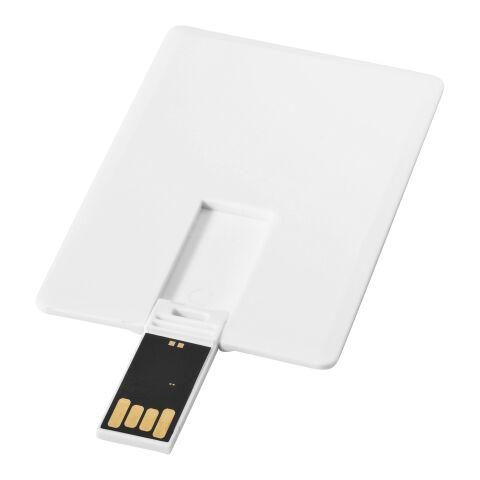 Slim 2 GB USB-Stick im Kreditkartenformat weiß | ohne Werbeanbringung | Nicht verfügbar | Nicht verfügbar