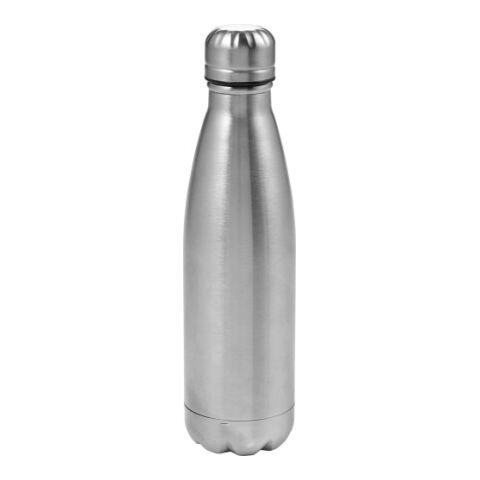 Doppelwandige Trinkflasche Bali 550 ml aus Edelstahl Silber | ohne Werbeanbringung | Nicht verfügbar | Nicht verfügbar