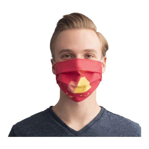 Wiederverwendbare Sublimations-Maske mit elastischen Bändern