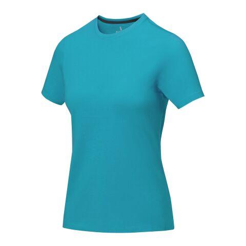 Nanaimo Damen T Shirt türkis | XL | Digital-Transferdruck | wirkungsvoll auf rechte Seite | 230 mm x 280 mm | 25