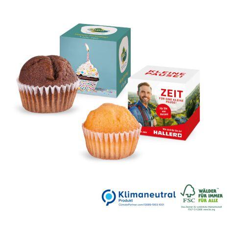 Muffin Mini im Werbewürfel