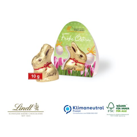 "Lindt Goldhase, 10 g ""Osterboten"""