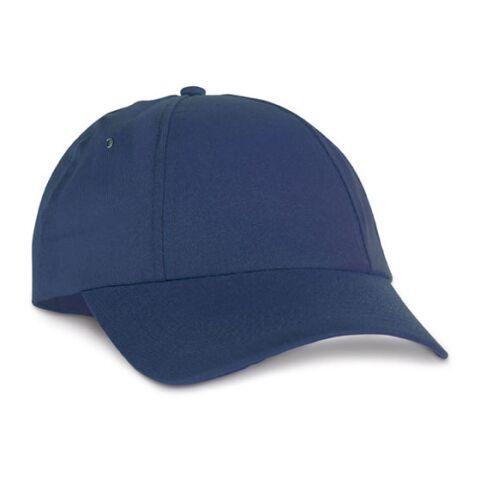 Kappe Mittelblau | ohne Werbeanbringung