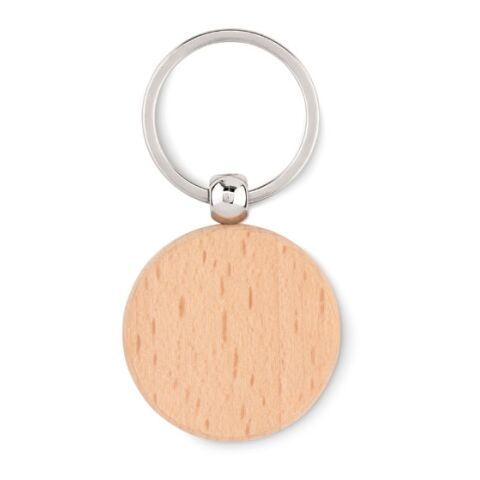 Schlüsselring Holz, rund