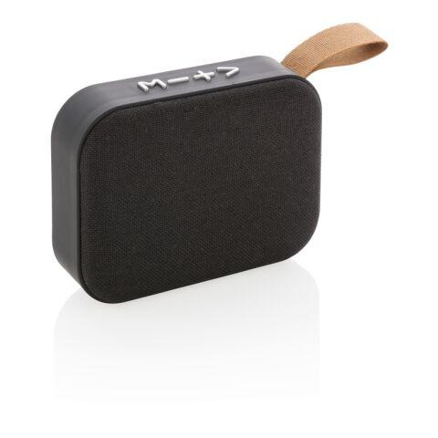 Lautsprecher mit Stoffbezug schwarz-schwarz | ohne Werbeanbringung | Nicht verfügbar | Nicht verfügbar