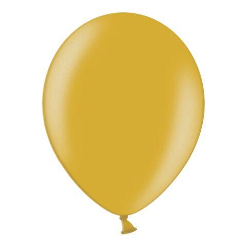 Großer Metallicballon - Umfang 350 (120 cm Ø) gold | ohne Werbeanbringung | ohne Werbeanbringung