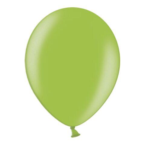 Standard Metallicballon - Umfang 100-110 cm grün   ohne Werbeanbringung   ohne Werbeanbringung