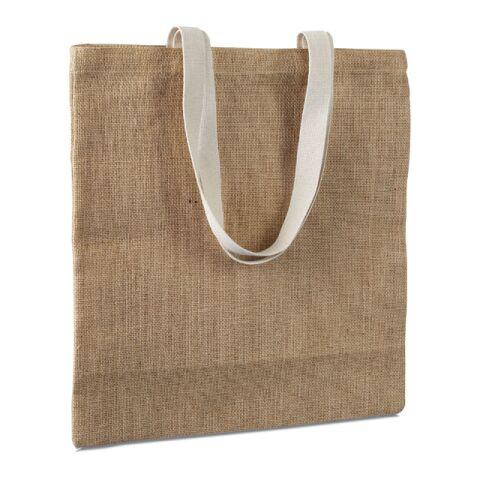 Jute Einkaufstasche beige | ohne Werbeanbringung | Nicht verfügbar | Nicht verfügbar | Nicht verfügbar