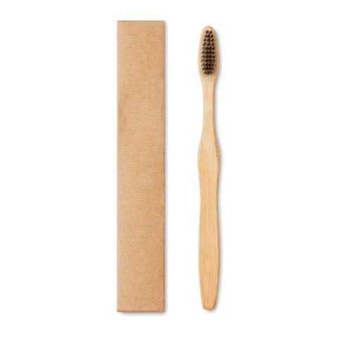 Zahnbürste Bambus mit Nylon-Borsten