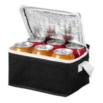 Spectrum Kühltasche für 6 Dosen schwarz