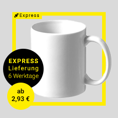 Express Tasse in 6 Werktagen