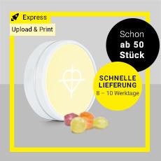 Upload and Print - Süßigkeiten Werbeartikel