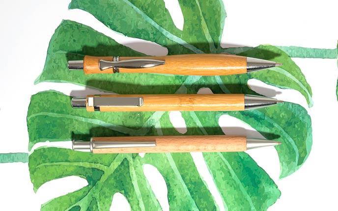 Mit ökologischen Kugelschreibern nachhaltig werben