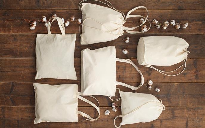 Bio-Baumwolltaschen aus natürlichen Fasern bei allbranded kaufen
