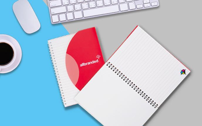 Notizbücher mit Logo bedrucken