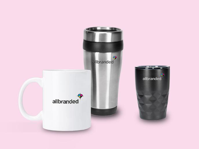 Personalisierte Tassen und Becher für Ihr Unternehmen kaufen